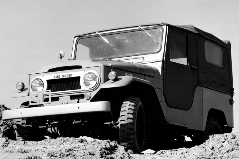 The history of Land Cruiser