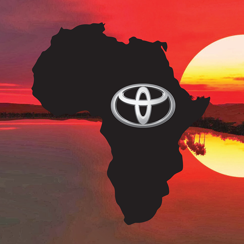 The success of the Toyota brand in Africa